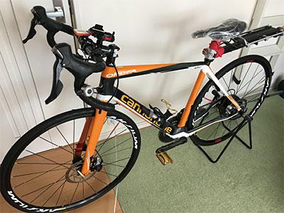 鈴木さんの自転車写真
